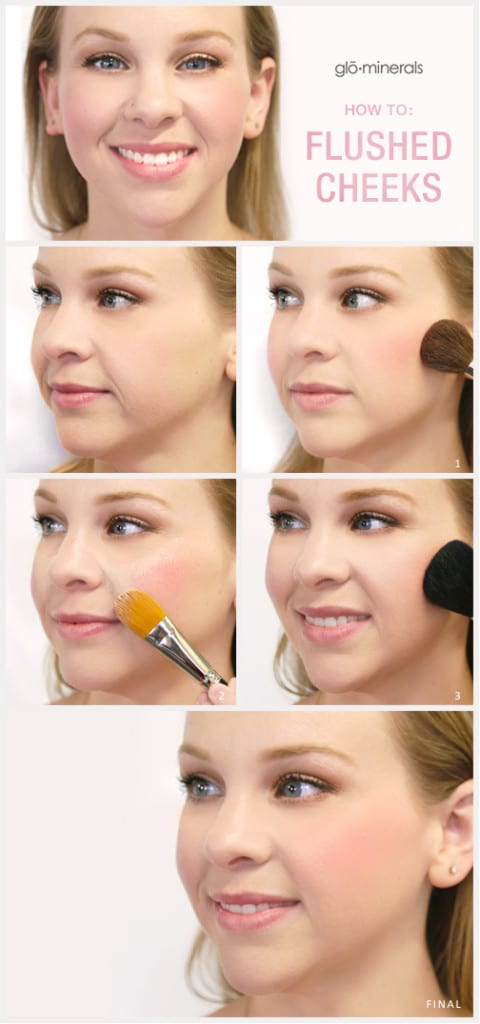 How to Get Flushed Cheeks