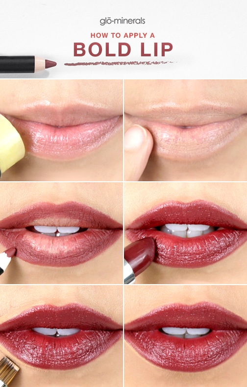 Tips for Applying a Bold Lip