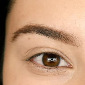 Brow after step 1 Precise Micro Browliner