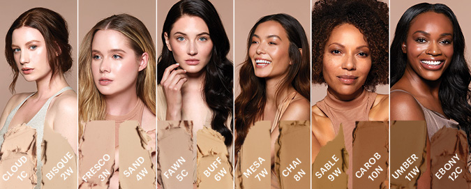 Find your mineral foundation stick shade