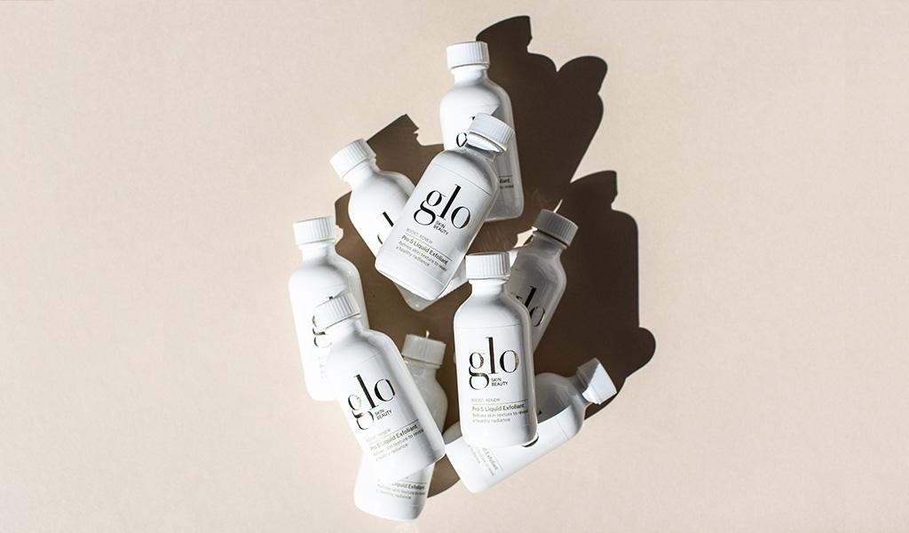 glo skin beauty pro 5 liquid exfoliant products
