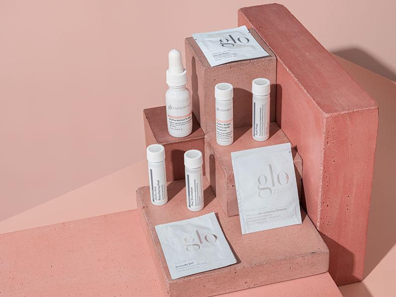 glo skin beauty peel products