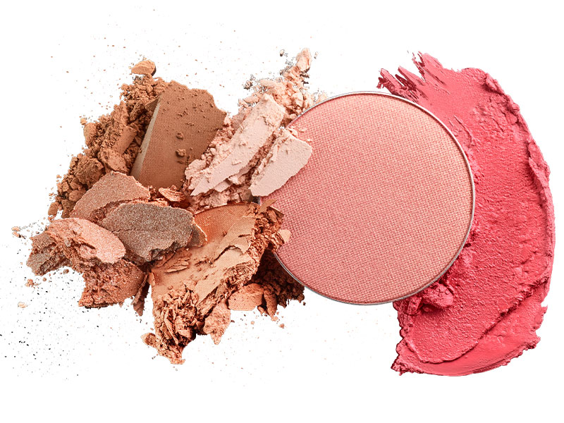 Cream blush or powder blush
